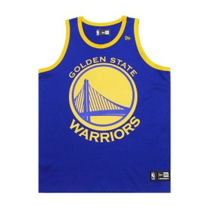 Regata Golden State Warriors Basic Azul - New Era
