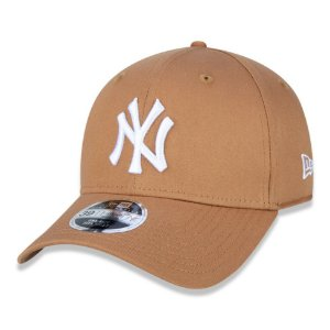 Boné New York Yankees 3930 White on Brown MLB - New Era