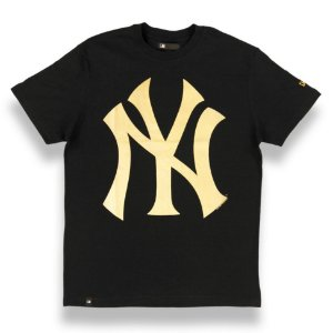 Camiseta New York Yankees Color Preto/Dourado - New Era