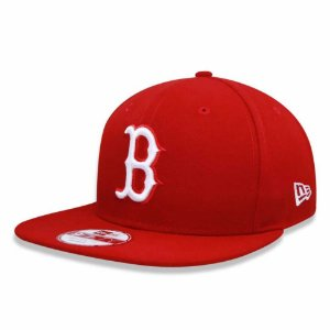 Boné Boston Red Sox 950 White on Red MLB - New Era