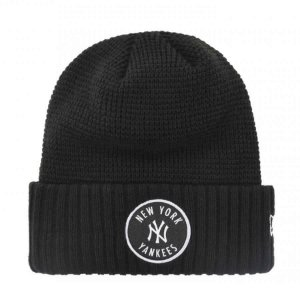 Gorro Touca New york Yankees Emblem Waffle Preto - New Era