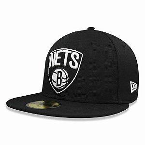 Boné Brooklyn Nets 5950 Classic NBA - New Era
