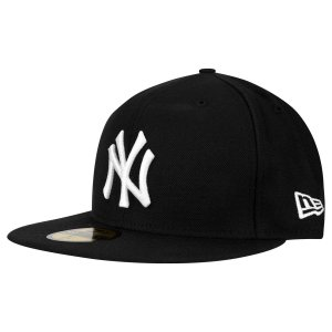Boné New York Yankees 5950 Basic Preto Fechado - New Era