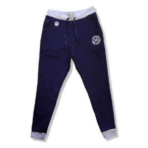 Calça New England Patriots Moletom Mescla Azul NFL - New Era