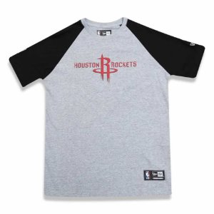 Camiseta Houston Rockets NBA Heather Basic - New Era