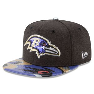 Boné Baltimore Ravens DRAFT 2017 On Stage Snapback - New Era