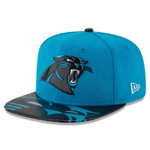 Boné Carolina Panthers DRAFT 2017 On Stage Snapback - New Era