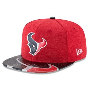 Boné Houston Texans DRAFT 2017 On Stage Snapback - New Era