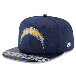 Boné Los Angeles Chargers DRAFT 2017 On Stage Snapback - New Era
