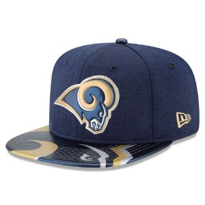 Boné Los Angeles Rams DRAFT 2017 On Stage Snapback - New Era