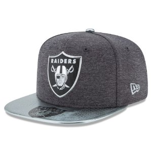 Boné Oakland Raiders DRAFT 2017 Spotlight Snapback - New Era