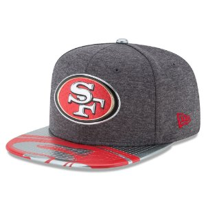 Boné San Francisco 49ers DRAFT 2017 Spotlight Snapback - New Era