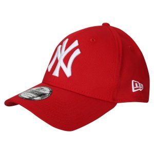 Boné New York Yankees 3930 White on Red MLB - New Era