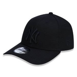 Boné New York Yankees 940 Snapback Black on Black - New Era