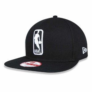 Boné Basic Logo NBA 950 Snapback Preto - New Era