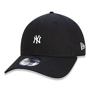 Boné New York Yankees 940 Mini Logo Preto Snapback - New Era