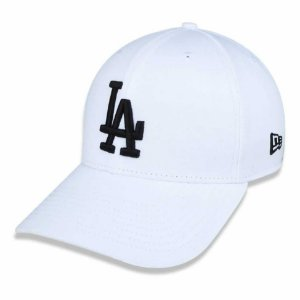 Boné Los Angeles Dodgers 3930 Black on White MLB - New Era
