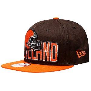 Boné Cleveland Browns DRAFT15 950 Snapback - New Era