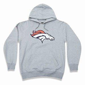 Casaco Moletom Denver Broncos Basic Logo Cinza - New Era