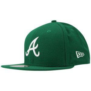 Boné Atlanta Braves 950 White on Green MLB - New Era