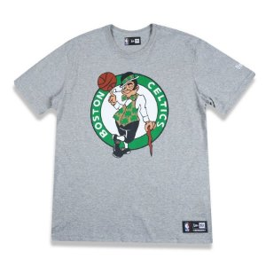Camiseta Boston Celtics Basic Logo Cinza NBA - New Era