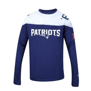 Camiseta Manga Longa New England Patriots Estrelas  - New Era