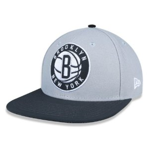 Boné Brooklyn Nets Black Reflective 950 Snapback NBA - New Era