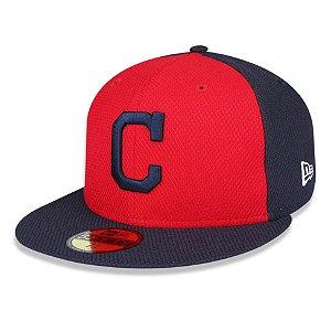 Boné Cleveland Indians 5950 Diamond17 Fechado - New Era
