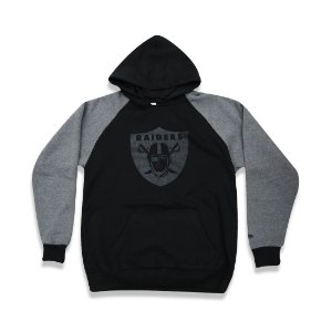 Casaco Moletom Oakland Raiders Raglan - New Era