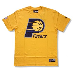 Camiseta Indiana Pacers NBA Basic Amarelo - New Era