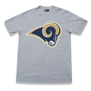 Camiseta Los Angeles Rams Cinza - New Era
