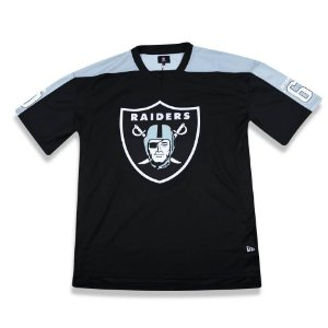 Camiseta JERSEY Oakland Raiders Preta NFL - New Era