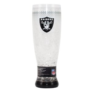 Copo de Chopp e Cerveja Térmico Oakland Raiders - NFL