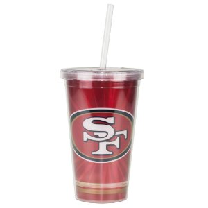 Copo C/ Canudo San Francisco 49ers - NFL