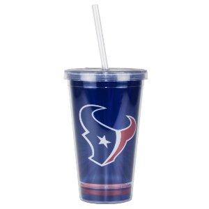 Copo C/ Canudo Houston Texans - NFL