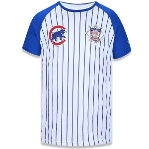 Camiseta Chicago Cubs Team 34 Branca/Azul - New Era