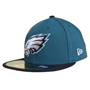 Boné Philadelphia Eagles 5950 Evergreen NFL - New Era