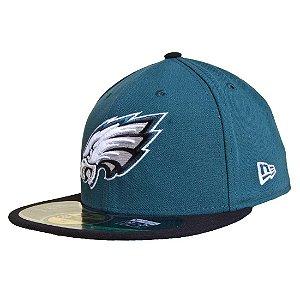Boné Philadelphia Eagles 5950 Evergreen NFL - New Era