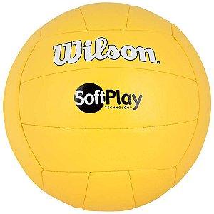 Bola de Vôlei Soft Play Amarela - Wilson