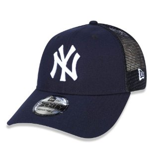 Boné New York Yankees 940 Trucker Marinho - New Era