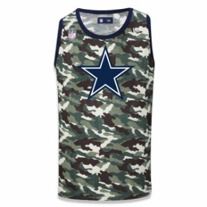 Regata Dallas Cowboys Camuflada Team - New Era