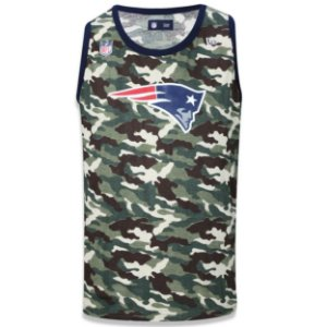 Regata New England Patriots Camuflada Team - New Era