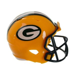 Mini Capacete Riddell Green Bay Packers Pocket Size