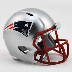 Mini Capacete Riddell New England Patriots Pocket Size