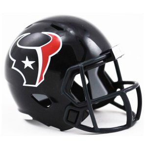 Mini Capacete Riddell Houston Texans Pocket Size
