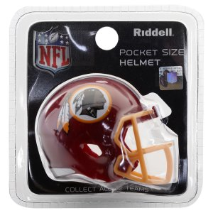 Mini Capacete Riddell Washington Redskins Pocket Size
