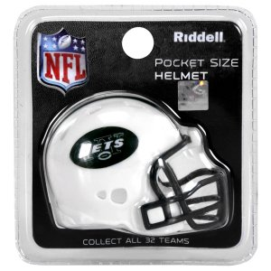 Mini Capacete Riddell New York Jets Pocket Size