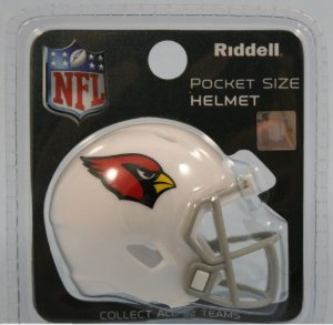 Mini Capacete Riddell Arizona Cardinals Pocket Size