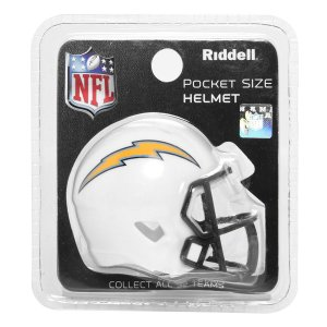 Mini Capacete Riddell Los Angeles Chargers Pocket Size