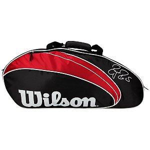Raqueteira Wilson Roger Federer X3